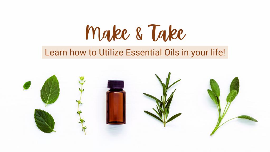 Make N' Take - Essential Oils Workshop @ Float State
